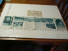 vintag travel paper--LOCARNO Switzerland Brochure and Map, 1920's or so