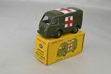 "French Dinky #80F Renault Goelette Military Ambulance 3 3/8"" Long 1959 Ex W/Box"