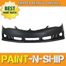 NEW 2012 2013 2014 Toyota Camry SE Front Bumper Painted TO1000379