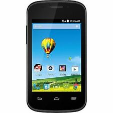 ZTE Zinger - 4GB - Black (T-Mobile) •No Contract, Prepaid Smartphone