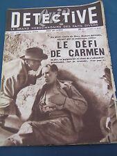 Détective 1948 125 COUZON MONT D'OR RANDAN TUBIZE LOMPREZ St Michel Brenne AZAC