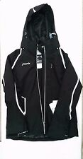 Phenix Womens Orca Insulated Ski Snowboard Jacket - Black Size 8 Waterproof