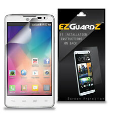 4X EZguardz LCD Screen Protector Skin Cover Shield HD 4X For LG L60 (Clear)