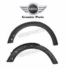 Mini Cooper R56 R55 R57 Front Left Right Wheel Arch Trim Set Genuine NEW