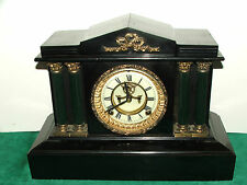 "1904 ""BOSTON EXTRA"" ANSONIA OPEN ESCAPMENT MANTLE CLOCK"