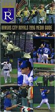 1996 Kansas City Royals Baseball MLB Media GUIDE