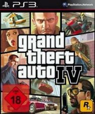 Playstation 3 GRAND THEFT AUTO 4 GTA 4  Sehr guter Zustand