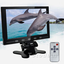 "9"" TFT LCD 16:9 Color Monitor Screen Display CCTV Car Video PC Indoor Monitore"