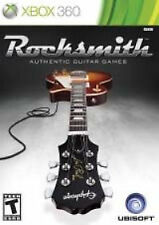 XBOX 360 ROCKSMITH Authentic Guitar Games & Real Tone Cable Learn to play
