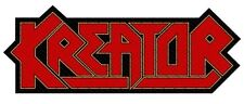 Kreator - Logo Shape Cut-Out Patch Aufnäher Thrash Speed Heavy Metal NEU Kutte