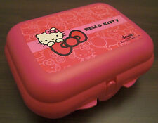 Tupperware Kleine Twindose Hello Kitty Twin Dose Brotdose Pink Rosa Neu OVP