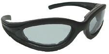 Motorcycle Biker Transition Sunglasses Foam Padded Goggles 4739SS