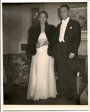 1940's-1950's great photo man and woman going for night out on the town