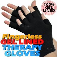 GEL Lined Compression Therapy Gloves Eczema Arthritis Dermatitis Dry Skin