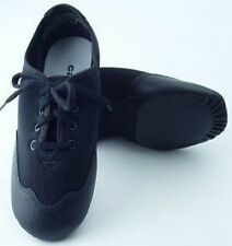 Capezio TJ10 Adult Size 4M Black Techno Oxford Lace Up Jazz Shoe