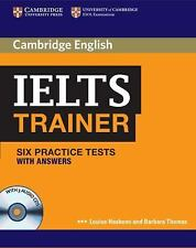 IELTS Trainer : Six Practice Tests with Answers by Louise Hashemi (2011, CD /...