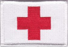 Medic Red Cross Deployment Patch on velcro
