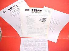 1960 CHEVROLET IMPALA BELAIR BISCAYNE EL CAMINO DELCO GM RADIO SERVICE MANUAL 2