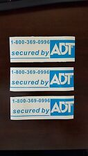 ADT Security Stickers  (10) per auction
