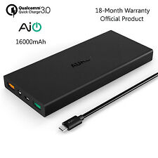 [ Quick Charge 3.0 ] Aukey PB-T9 16000mAh Power Bank External Battery