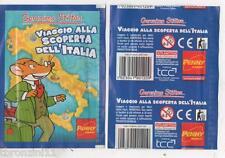 NR.02 BUSTINE FIGURINE - GERONIMO STILTON - VIAGGIO ALLA SCOPERTA DELL'ITALIA