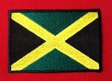JAMAICA JAMAICAN NATIONAL FLAG RASTA CARRIBEAN  BADGE IRON SEW ON PATCH