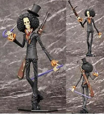 """Anime One Piece POP Strong Edition Brook 9"""" PVC Figure Toy Gift"""