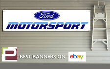 Ford Motorsport Retro Workshop, Garage Banner, 1990s, race, rally car, Escort