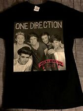 One Direction (the Band) 2013 Take Me Home Tour Tshirt Men's Sz S NEW