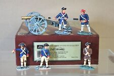 BRITAINS 17285 AMERICAN REVOLUTION AMERICAN 6 POUND GUN CANNON & CREW MIB my