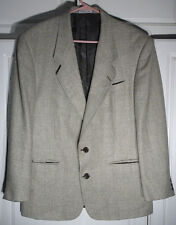 YSL Yves Saint Laurent Men's 44  Gray - 2 Button Tweed Blazer Jacket Sport Coat