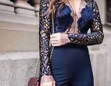 MICHELLE MASON LONG SLEEVE LACE DRESS 0 UK 6/8