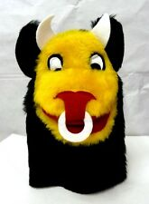 Bull Horns Ring Black Yellow White Red Hand Puppet Imagination Sheram Unisex New