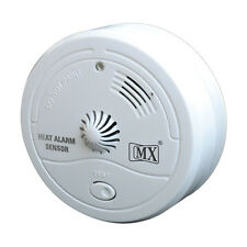 Wireless Fire Heat Detector Home Office Restaurant Cordless Sensor Alert Alarm