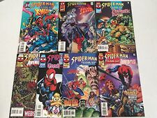 Spider-Man Team-Up #1-7 SET Thanos Howard the Duck Gambit Dracula Hulk