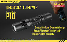 Nitecore P10 Strobe Ready Cree XM-L2 LED Flashlight - 800 Lumens