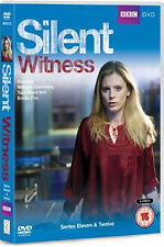 SILENT WITNESS - SERIES 11 AND 12 - DVD - REGION 2 UK