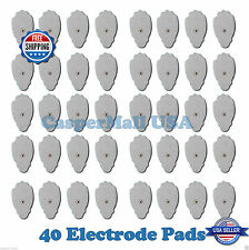 FDA Cleared 40 Replacement Massage Pads for all PALM & ECHO Digital Massager