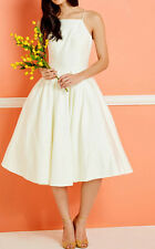 Modcloth Beloved and Beyond Midi Dress Ivory ChiChilondon NWT $175 Sz 18 Wedding