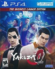 Yakuza 0 The Business Edition PS4 Game Brand New Sealed