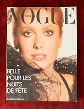 Vogue Paris ~ #581 November 1977 ~ Catherine Deneuve Helmut Newton