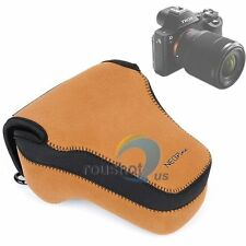 NEOpine Neoprene Camera Case Bag Cover For Sony A7II A7R A7 24-70mm 28-70mm Lens