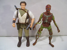 LOT OF 2 THE MUMMY ACTION FIGURES RICK O'CONNELL DECAPITATED MUMMY 1998