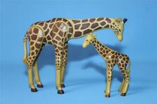 Playmobil grand adulte & bébé girafe-pour zoo safari animal sauvage neuf