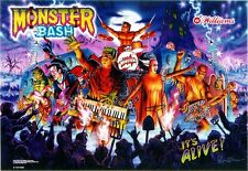MONSTER BASH Pinball Multi-Effect Translite Light Mod