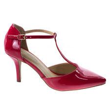 Bahia D'orsay T-Strap Stiletto Heel Dress Sandal