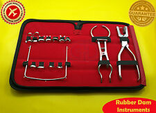 Dental Rubber Dam Instruments Kit Surgical Instruments 14 Pieces GD