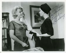 AUTOGRAPHE SUR PHOTO ORIGINALE de Angela LANSBURY (Collection Pierre Goulliard)
