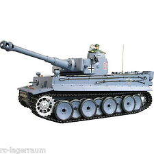 1:16 RC Panzer German TIGER 1 mit Rauch Sound Schuss Heng Long