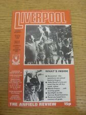 22/04/1978 Liverpool v Norwich City  (Light Crease).  Thanks for taking the time